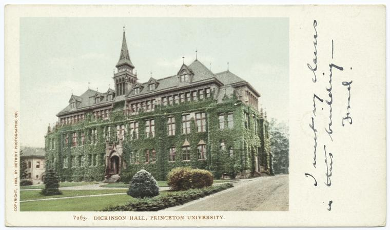 Fascinating Historical Picture of Princeton University in 1903