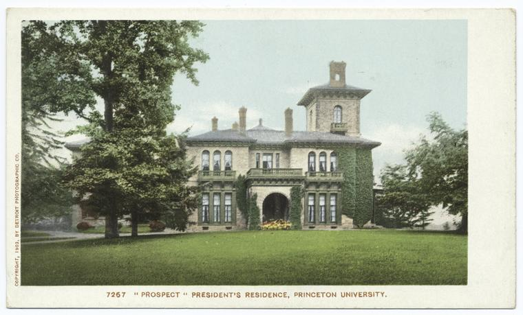 This is What Princeton University Looked Like  in 1903