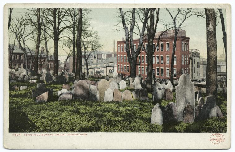 Copp's Hill Burying Ground, Boston, Mass.