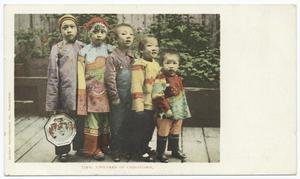 Children of Chinatown, Chinatown, San Francisco, Calif.