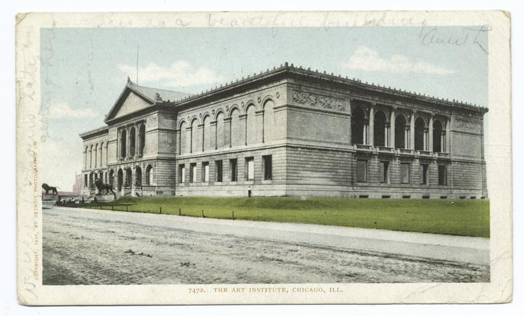 Fascinating Historical Picture of Art Institute of Chicago in 1903