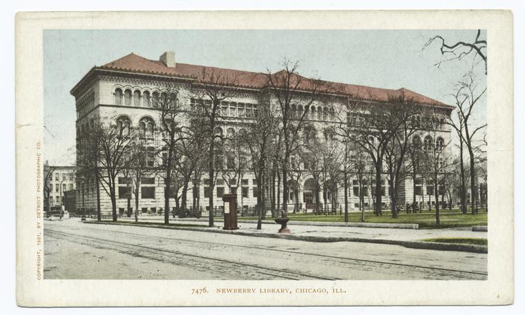 Fascinating Historical Picture of Newberry Library in 1903