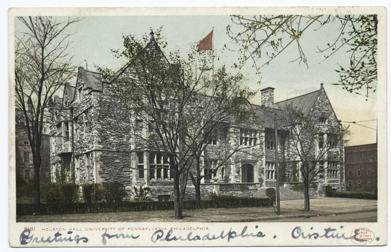 Fascinating Historical Picture of University of Pennsylvania in 1898