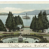 Lake from Piazza, Fort Wm. Henry Hotel, Lake George, N. Y.
