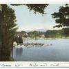 Boat Landing , Fort Wm. Henry Hotel, Lake George, N. Y.