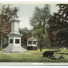 Soldiers' Monument and Band Stand, Brattleboro, Vt.