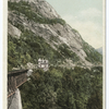 Willey Brook Bridge and Mt. Willard from Crawford Notch, New Hampshire