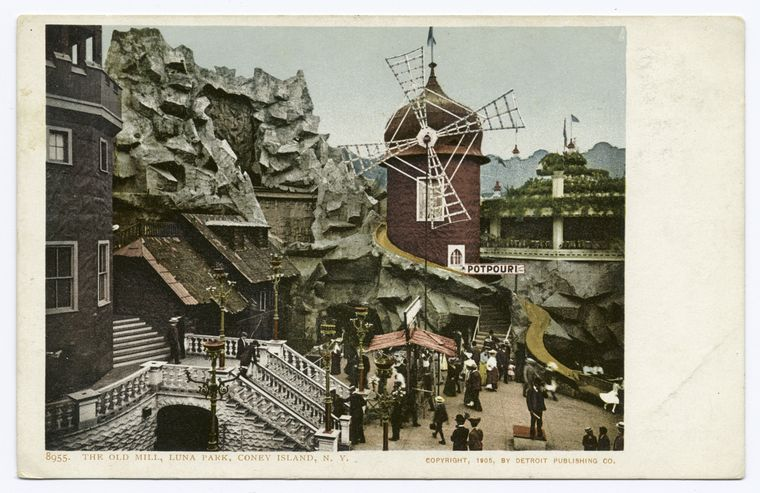 The Old Mill, Luna Park, Coney Island, N. Y.
