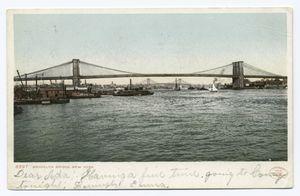 Brooklyn Bridge, New York, N. Y.