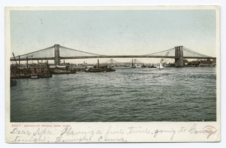 Brooklyn Bridge, New York, N. Y.