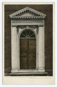 Doorway, Old Harwood Mansion, Anapolis, Md.