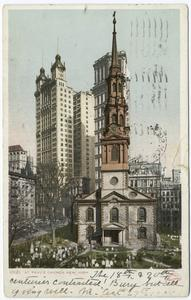 St. Paul's Church, New York, N. Y.