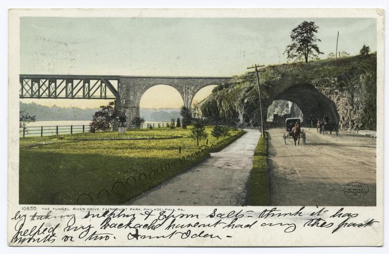 The Tunnel, River Drive, Philadelphia, Pa.