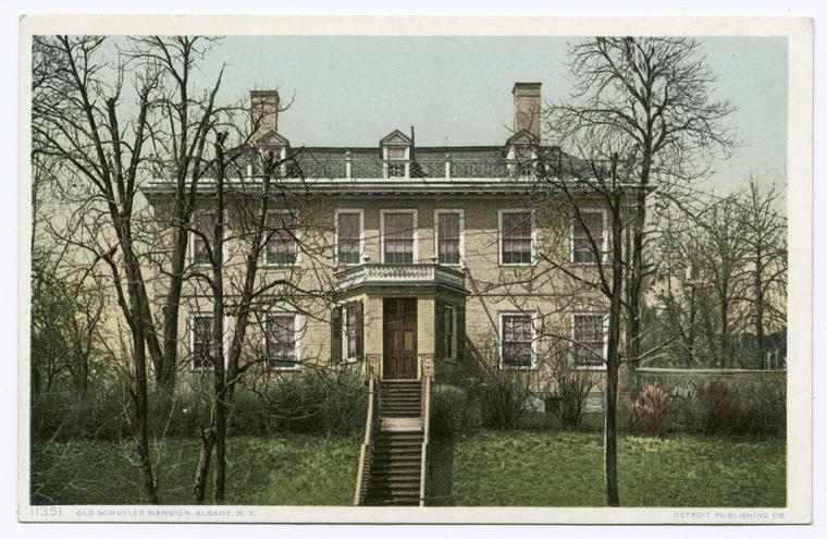 This is What Schuyler Mansion State Historic Site Looked Like  in 1907