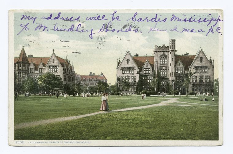 Fascinating Historical Picture of University of Chicago in 1907