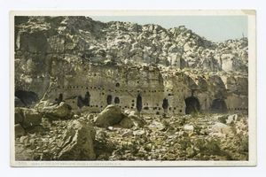 Home of the Cliff Dwellers, New Mexico