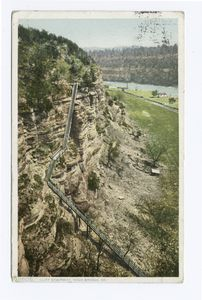 Cliff Stairway, High Bridge, Ky.
