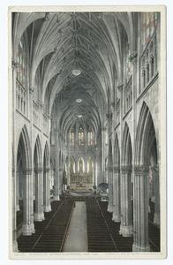 Interior St. Patrick's Cathedral, New York, N. Y.