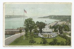 Claremont and Hudson River, New York, N. Y.