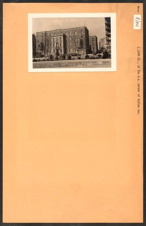 Bronx: 164th Street (East) - Walton Avenue