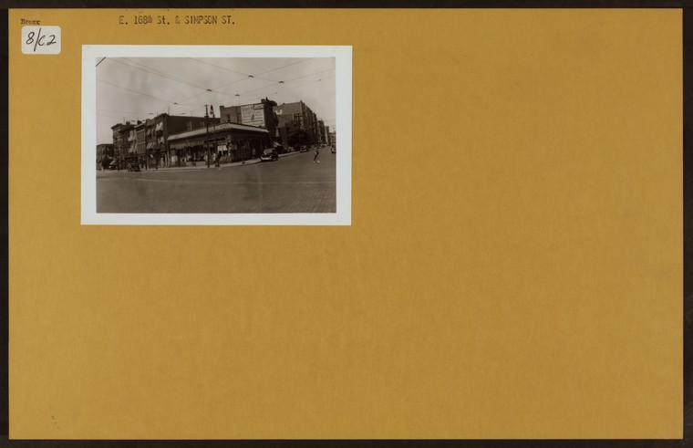 Bronx: 168th Street (East) - Simpson Street