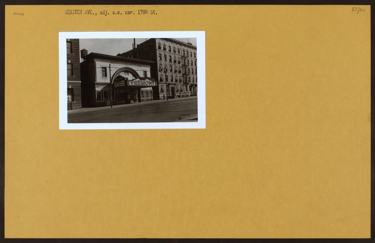 Bronx: Webster Avenue - 178th Street