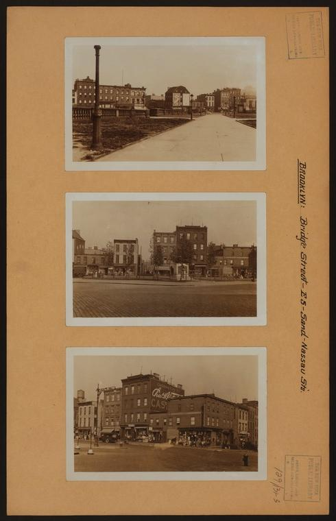 Brooklyn: Bridge Street - Sand Street