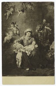 The Holy Family, Ludwig Knaus