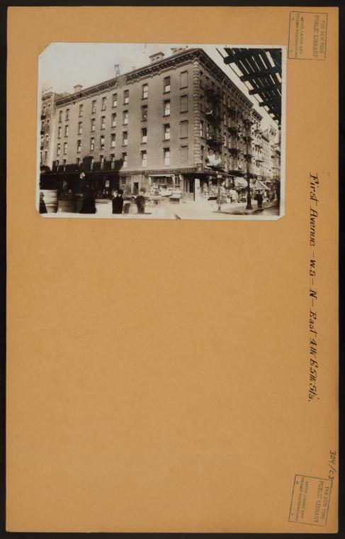 Manhattan: 1st Ave. - 4th St. E.