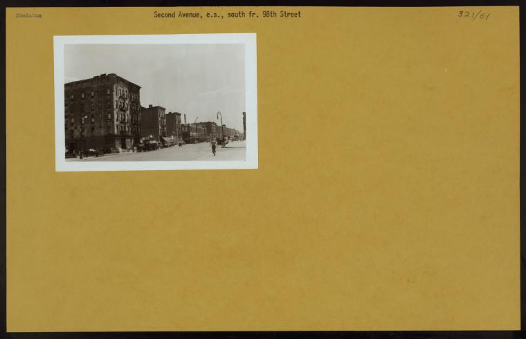 Manhattan: 2nd Avenue - 98th Street