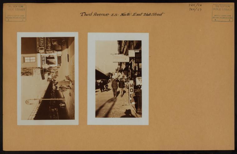 Manhattan: 3rd Avenue - 26th Street (East)
