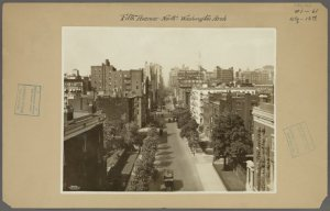 Manhattan: 5th Avenue - [Washington Square and 12th Street]