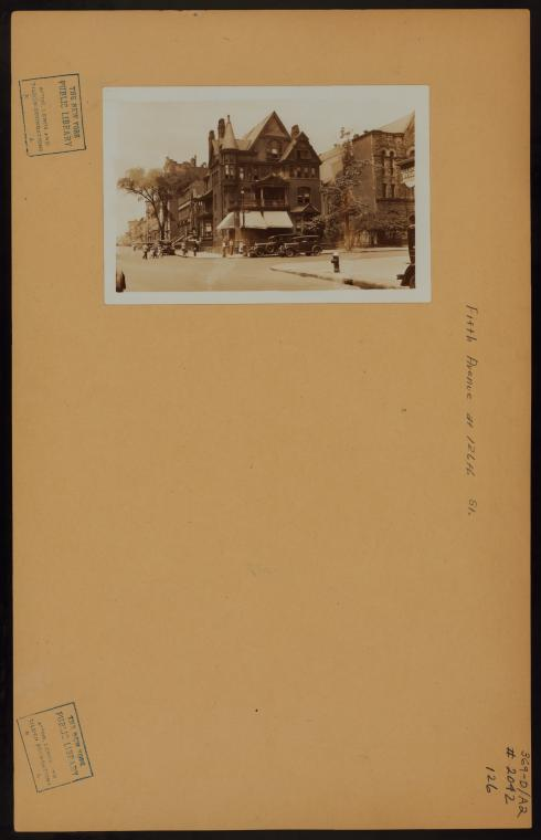 Manhattan: 5th Avenue - 126th Street