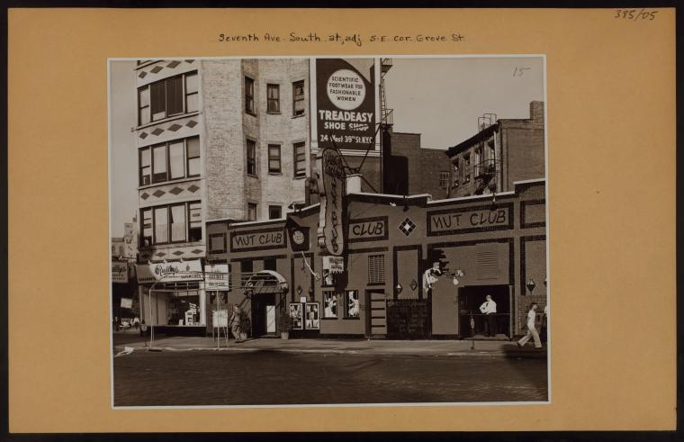 Manhattan: 7th Avenue South - Grove Street