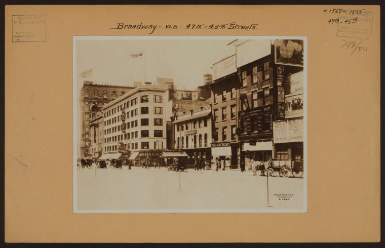 Manhattan: Broadway - 45th Street