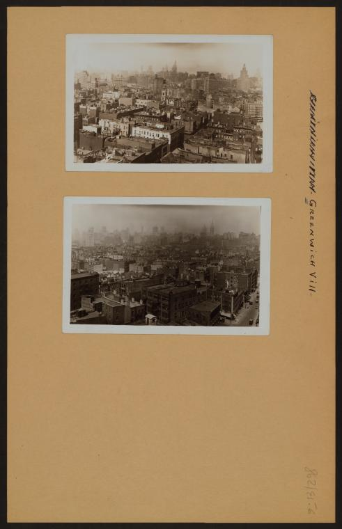 Manhattan: Greenwich Village - [General view.]