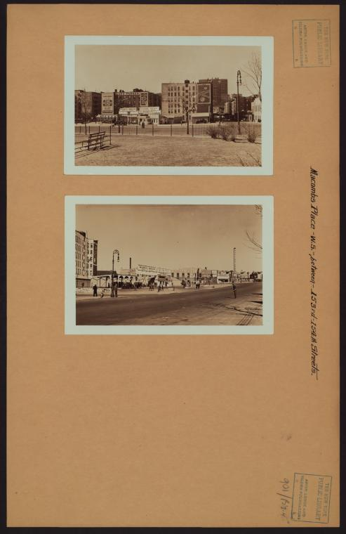 Manhattan: Macombs Place - 153rd Street (West)