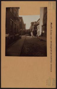 Manhattan: Minetta Lane - MacD... Digital ID: 721651F. New York Public Library
