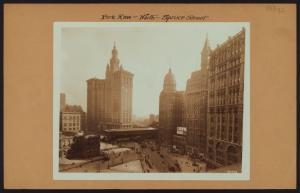 Manhattan: Park Row - Spruce Street