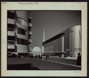 Queens: Flushing Meadow Park - [New York World's Fair of 1939-40 - General Motors Corporation.]