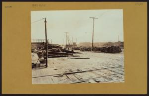 Richmond: Staten Island - [Wood cut up; Given to poor.]