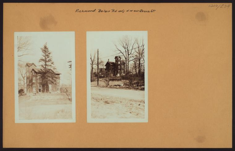 Richmond: Belair Road - Grove Street