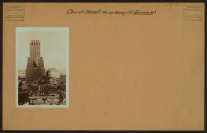 General view - [Manhattan - Church Street - Vesey Street.]