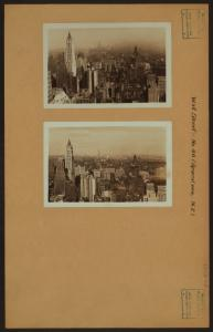 General view - [Manhattan - Wall Street (Northeast).]