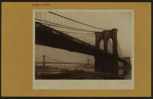 Bridges - Brooklyn Bridge - [Manhattan Bridge.]