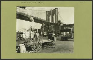 Bridges - Brooklyn Bridge - Pier 21 - Pennsylvania Railroad.