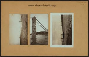 Bridges - George Washington Bridge - [North (Hudson) River.]