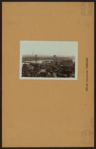 Bridges - Manhattan Bridge - [Brooklyn tower.]