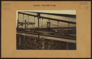 Bridges - Manhattan Bridge - [Brooklyn Bridge - Empire State Building.]