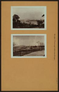 Bridges - Triborough and Hell Gate Bridges - [East River - Carl Schurz Park.]